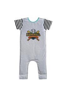 Pijama Longo Comfy Baseball