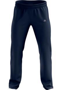 Calça Esportiva De Tactel Ct-100 - Masculino - Muvin - Cbl-15100 Azul Marinho