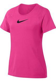 Camiseta Infantil Nike Top Ss Feminina - Feminino-Pink