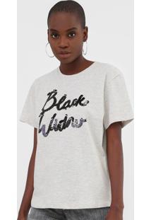 Camiseta Forum Black Widow Cinza