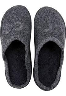 Chinelo Crocs Logo Slipper - Unissex-Preto