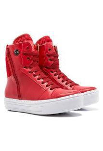 Sneaker K3 Fitness Sleek Vermelho