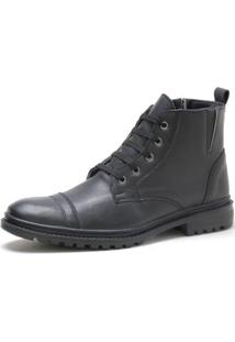 Bota Navit Shoes Elástico United Masculino - Masculino-Preto