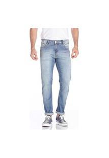 Calça Jeans Convicto Regular Skinny Azul Claro