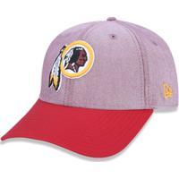 Boné 940 Washington Redskins Nfl Aba Curva Snapback New Era - Masculino- Vermelho 79ad96bd0e3