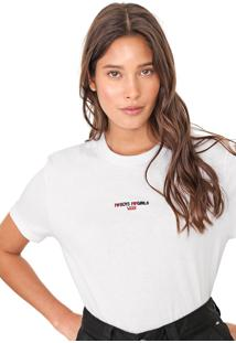 Camiseta Vans Wm Boys Girls Branca