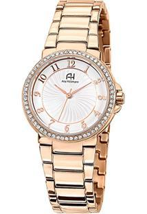 Relógio Champion Analógico Ah28633Z Feminino - Feminino-Rose Gold