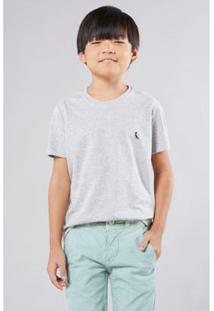 Camiseta Infantil Gota Pica-Pau Bordado Reserva Mini Masculina - Masculino