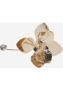 Bracelete Le Lis Blanc Flora Dourado Feminino (Dourado, Un)