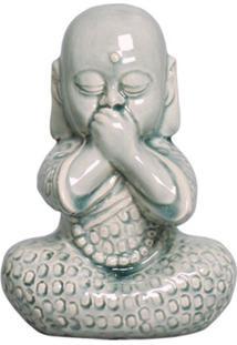 Estátua Decorativa Buda Não Faloverde