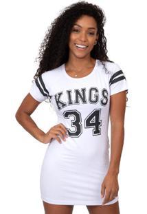 Camiseta Kings Sneakers Vest Legging 4 Branco - Kanui