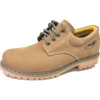Sapato Couro Verde masculino  53fd605e1b14f