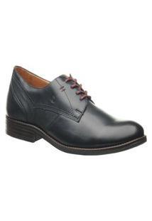 Sapato Pegada 124551-04 Couro Azul Marinho Pegada Azul Marinho