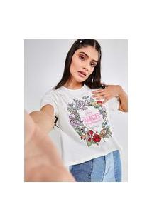Camiseta Cropped Alice