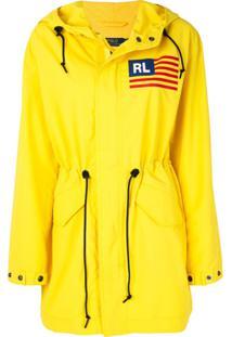 Polo Ralph Lauren Jaqueta Com Cordão De Ajuste - Amarelo