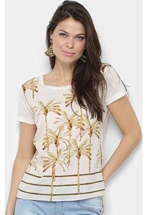 Camiseta Acostamento Resort Feminina - Feminino