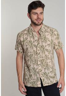 Camisa Masculina Coral Reef Coqueiros