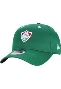 fac70c9858819 Boné Aba Curva Do Fluminense New Era 940 Sn Art - Snapback - Adulto - Verde