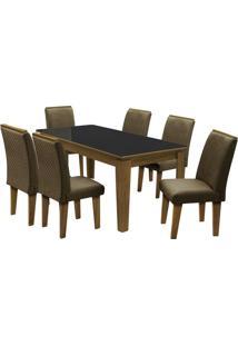 Conjunto De Mesa & Cadeiras Saint Michel Para 6 Lugares-Dobuê