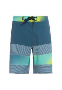 Bermuda Masculina Era 19 Boardshort - Azul