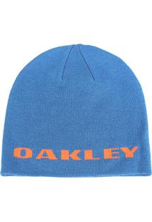 Gorro Oakley Rockslide Beanie Masculino - Masculino-Azul Claro+Laranja 096071b5f9b