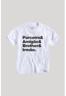 Camiseta Reserva Mini Irmão Parceiro Masculina - Masculino