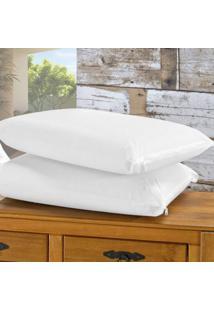 Capa Impermeável Para Travesseiro 20 Peças Bia Enxovais Branco