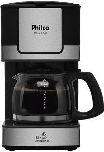 CafeteiraPreto/Prata Philco 220V Ph16