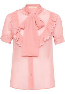 Camisa Feminina Cannery - Rosa