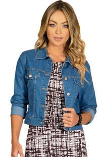 Jaqueta Jeans Quintess Azul Claro