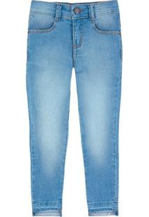 Calça Jeans Infantil Menina Super Elastano