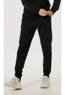 Calça Básica Masculina Jogger Em Moletom