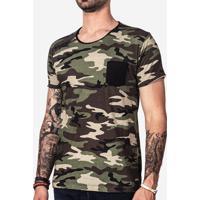 Camiseta Hermoso Compadre Militar Masculina - Masculino-Preto ef995691cd355