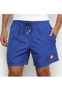 Bermuda Ellus 2Nd Floor Swim Basic Masculina - Masculino-Azul Royal