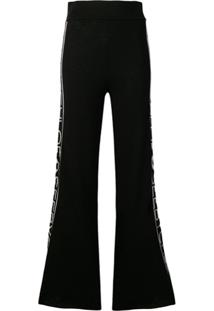 See By Chloé Flared Track Pants - Preto