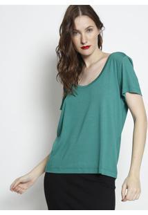 Camiseta Lisa- Verde- Forumforum