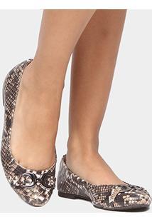Sapatilha Shoestock Snake Bridão - Feminino