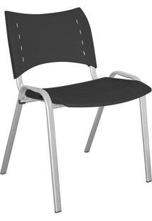 Cadeira De Escritório Interlocutor Stillus Preto