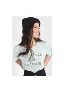 Camiseta Colcci No Chance Verde