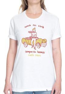 Nunca Foi Sorte - Camiseta Basicona Unissex