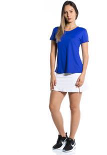Camiseta Manga Curta Pinyx Gola U Azul