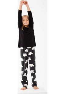 Pijama Longo Manga Longa Soft Groenlândia Kids Masculino
