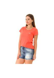 Camiseta Opera Rock T-Shirt Coral