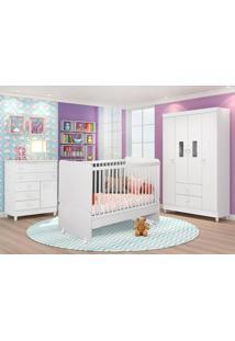 Dormitório Encanto Branco - Lc Móveis