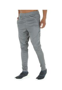 Calça Adidas Workout Climalite - Masculina - Cinza Escuro