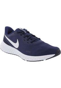 Tênis Nike Revolution 5 Esportivo Masculino Marinh