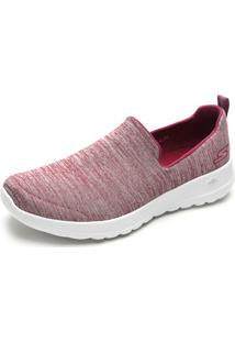 Slipper Skechers Go Walk Joy Vinho