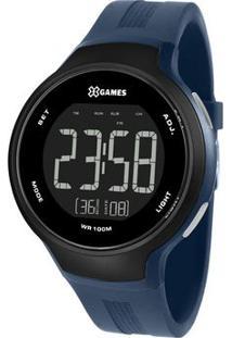 Relógio Digital Quartz Xmppd555Pxdx- Azul Marinho & Pretorient