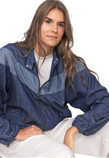 Jaqueta Jeans Lez A Lez Lisa Azul
