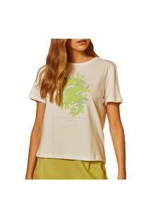 Camiseta Forum Off Shell Feminina